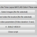 Creare un video time-lapse con MATLAB